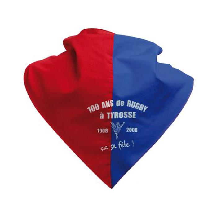 Pañuelos equipo bicolor Personalizados